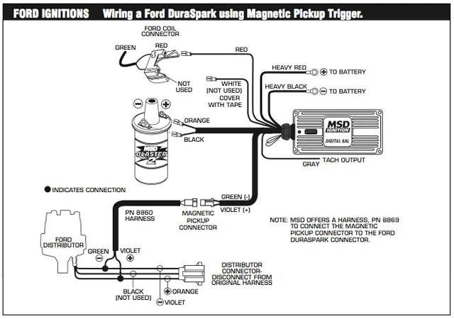 Msd Ignition Wiring Schematic
