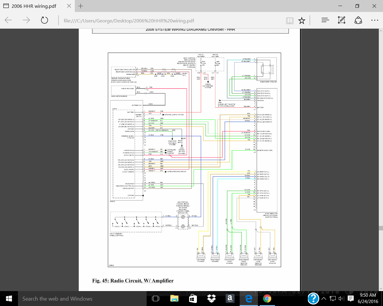 hight resolution of hhr radio wiring diagram wiring diagram portal chevy metro radio wiring diagram 2010 chevy hhr stereo
