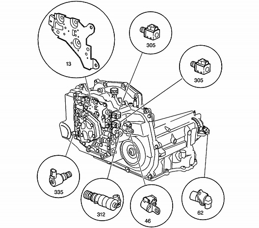 Chevrolet Diagram Transmission Cobalt 2007