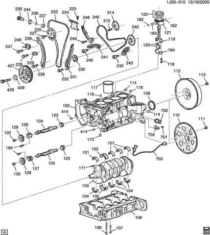 Engine Block Leaking Oil Vacuum Pump Leaking Oil wiring