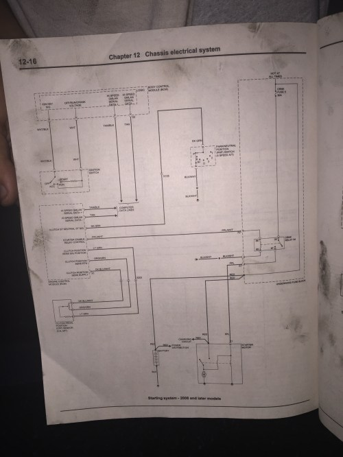 small resolution of no start no crank 2008 hhr starting system jpg