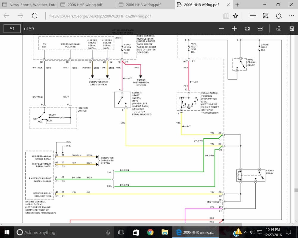 medium resolution of  2006 hhr wiring file engine will not crank screenshot 15 png