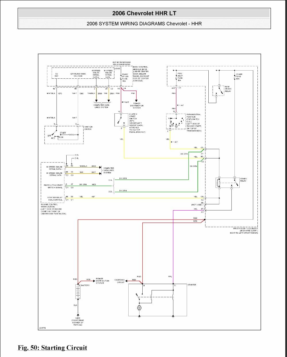 medium resolution of no crank no start no communication page 2 chevy hhr network hhr body control hhr wiring diagram
