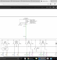 2008 hhr window wiring diagram [ 1280 x 1024 Pixel ]