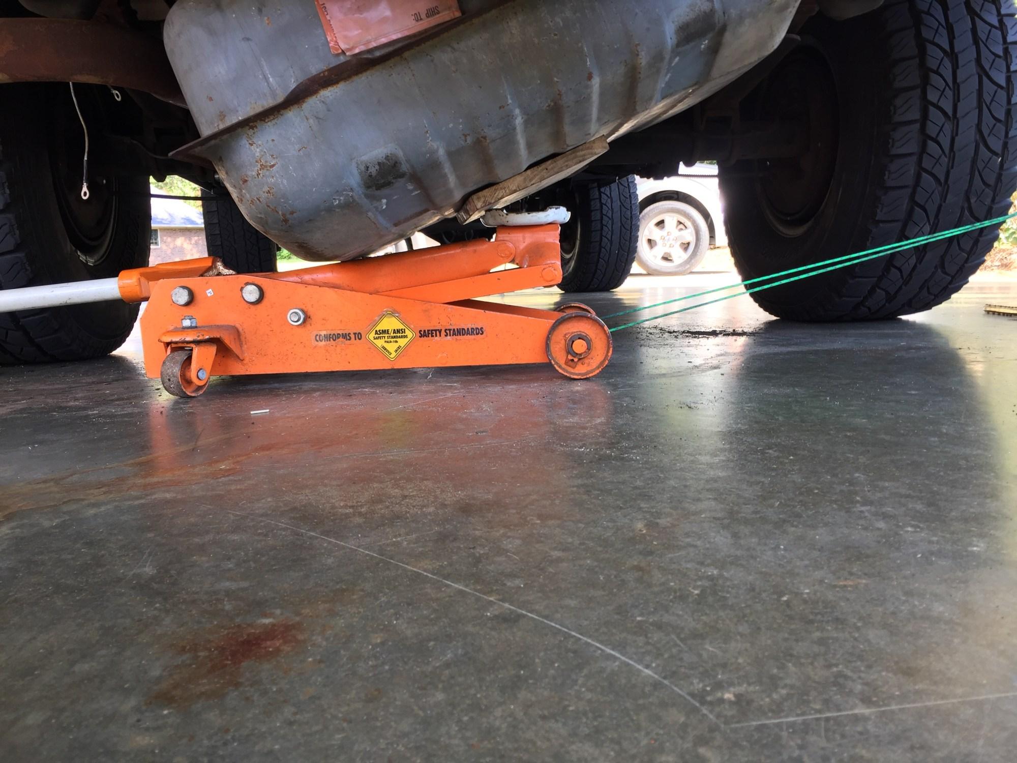 hight resolution of k5 blazer fuel tank installation