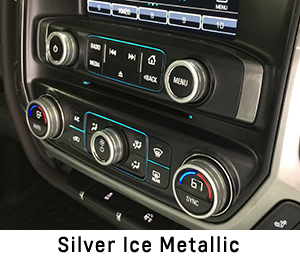 2014  2017 Silverado Interior Knob Kit  Choose Your