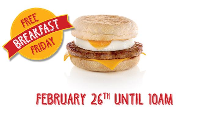 McDonald's Ireland is giving away free breakfasts Friday ...