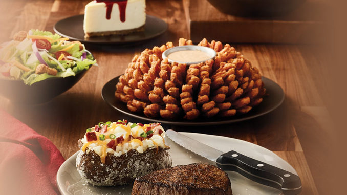 Outback Serves Up 4-Course Aussie Celebration Meal For 2 Through February 16. 2018 - Chew Boom