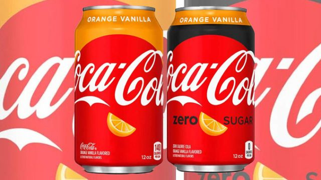 Coca-Cola Unveils New Orange Vanilla Coke And Orange Vanilla Coke Zero Sugar