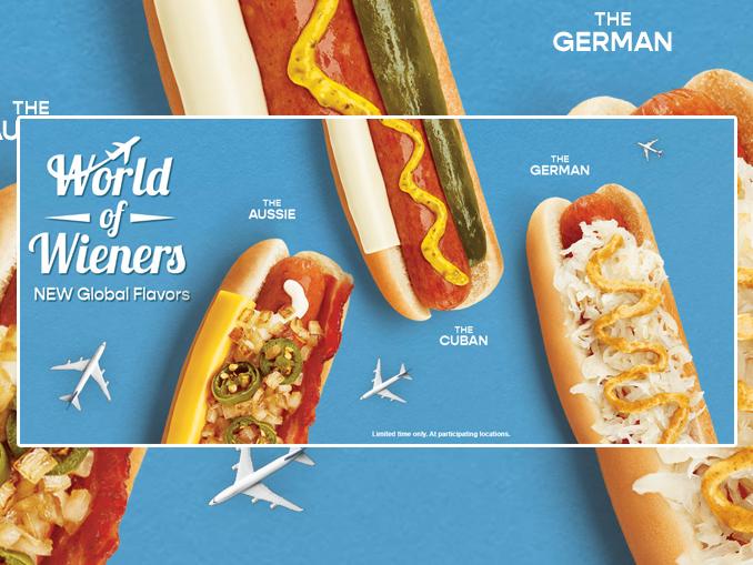 Wienerschnitzel Launches New World Of Wieners Event ...