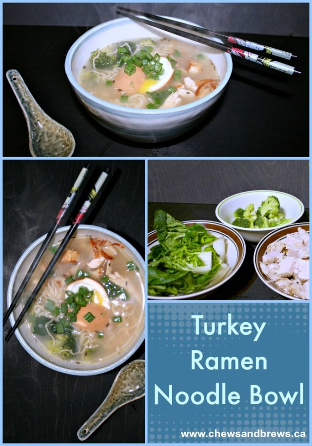 Turkey Ramen Noodle Bowl
