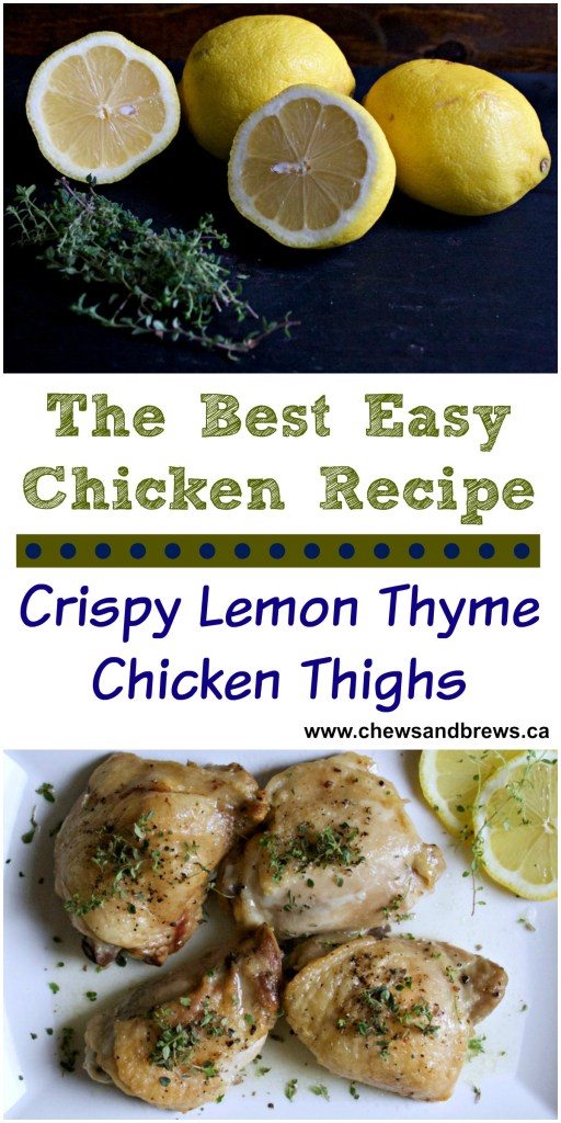 Lemon Thyme Chicken