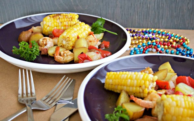 Shrimp and Corn Foil Packs