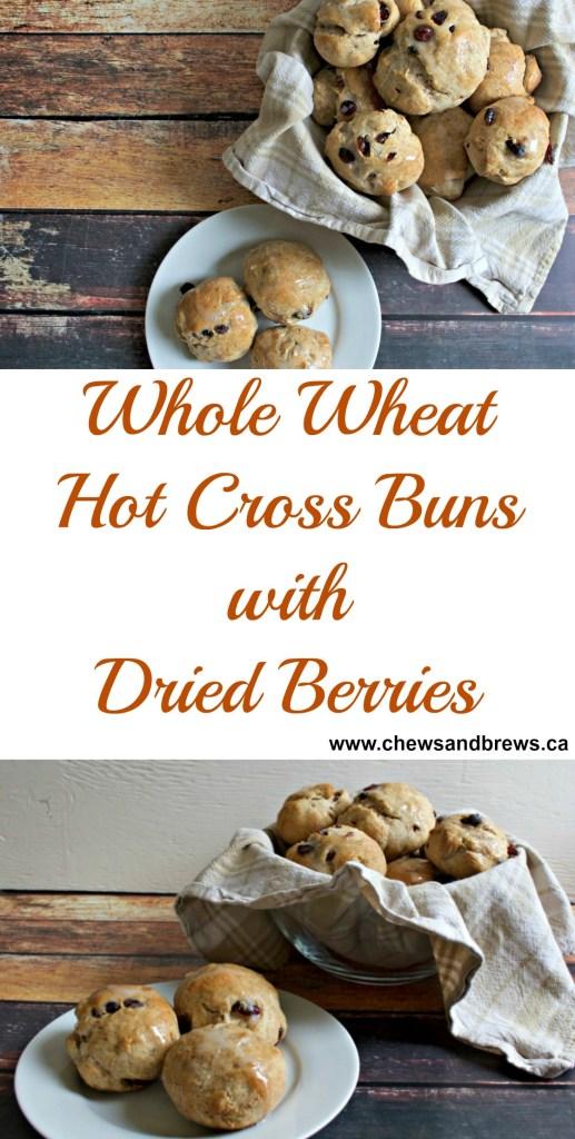Whole Wheat Hot Cross Buns