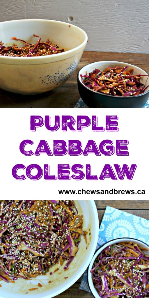 Purple Cabbage Slaw