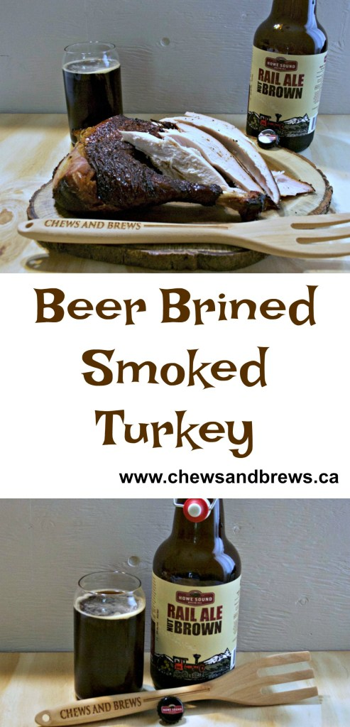 Beer Brined Smoked Turkey