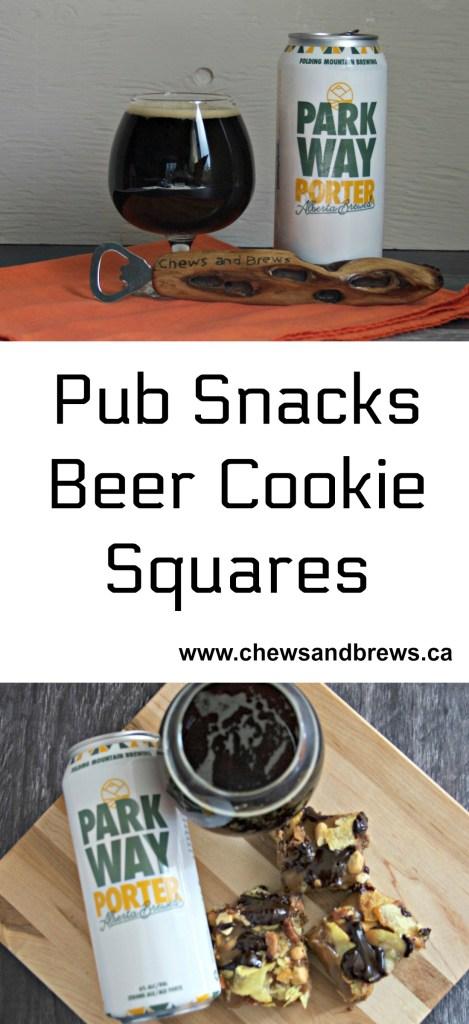 Pub Snacks Beer Cookie Squares