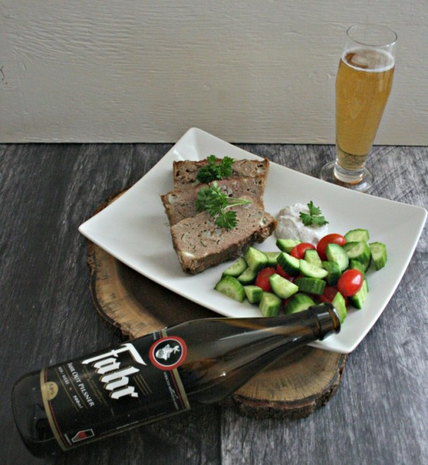 Pilsner Beer Chicken Meatloaf