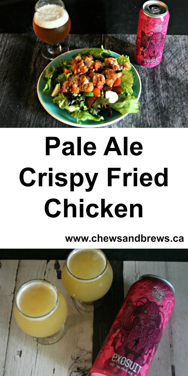 Pale Ale Crispy Fried Chicken