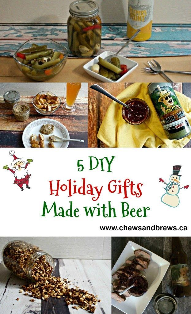 5 DIY Holiday Gifts Made With Beer