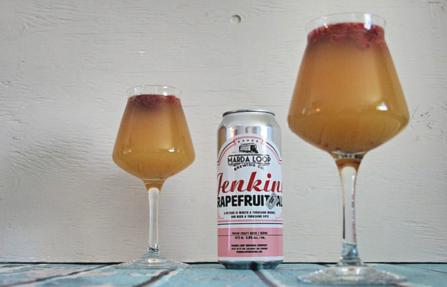 Grapefruit Beermosa