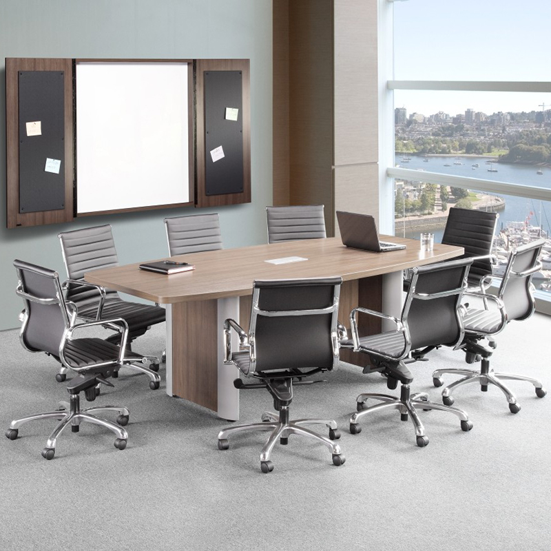 Classic Plus Boat Shaped Conference Table  Cheyenne