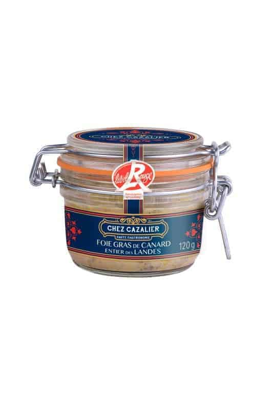 Foie Gras de Canard entier des Landes 120 g