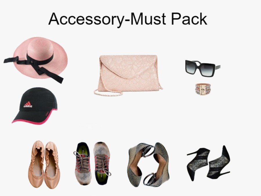 Accessory-Must Pack pieces for Getaway weekend