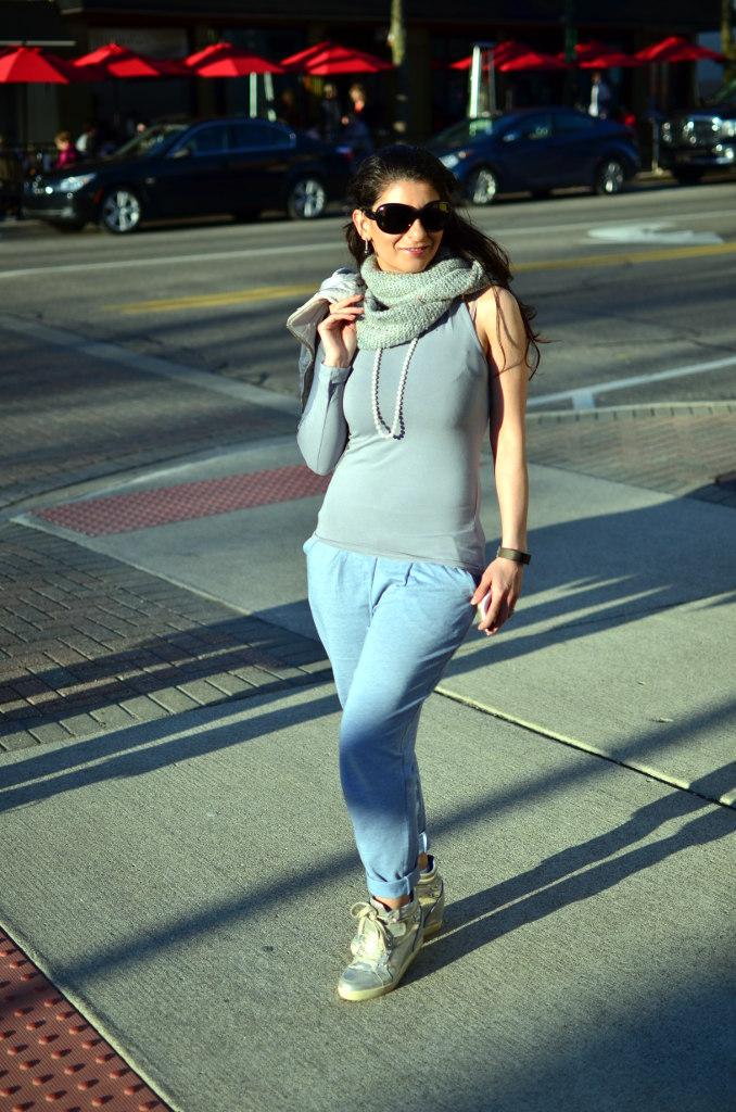 Jogger pants street style