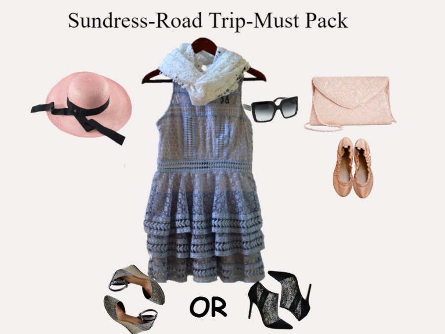 Sundress-Must pack pieces
