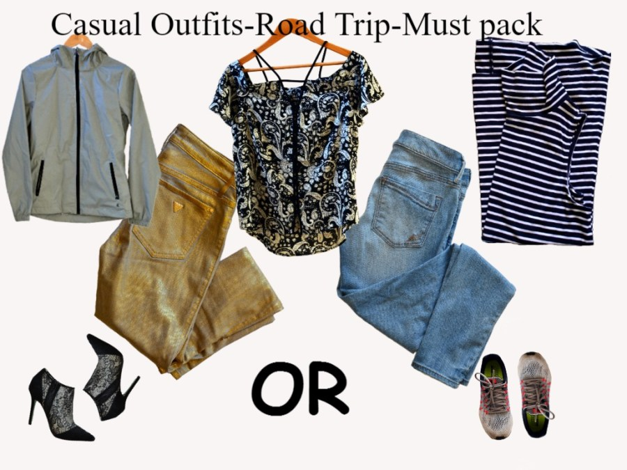 casual outfit must pack pieces
