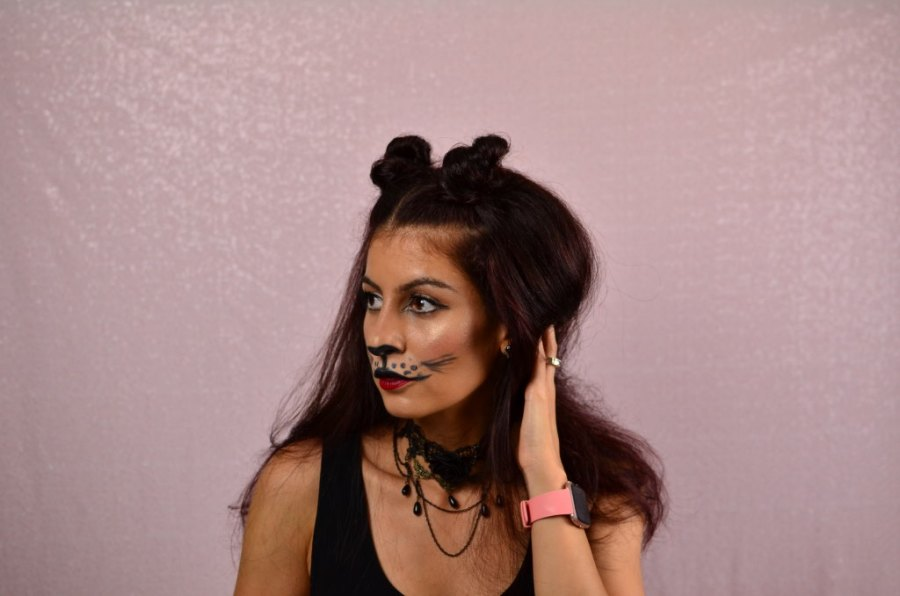 Cat Hairstyles For Halloween How To Make Cat Ears Using