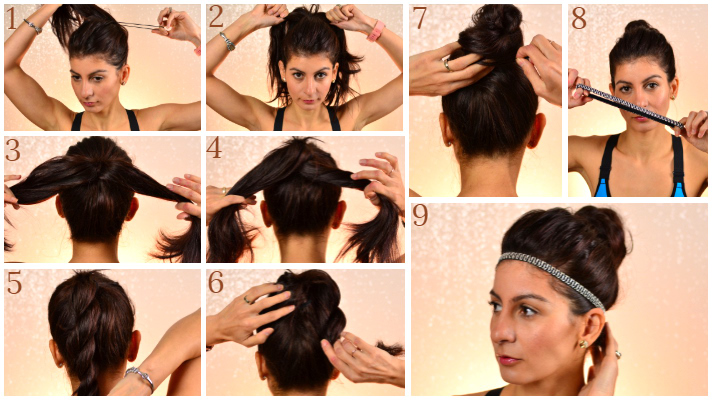 Quick and easy workout hairstyles-3 Hairstyles for female athletes
