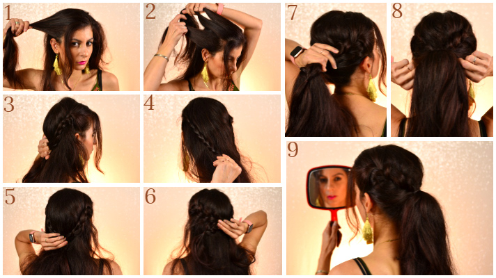 5 easy to do ponytail hairstyles-simple ponytail hairstyles for everyday