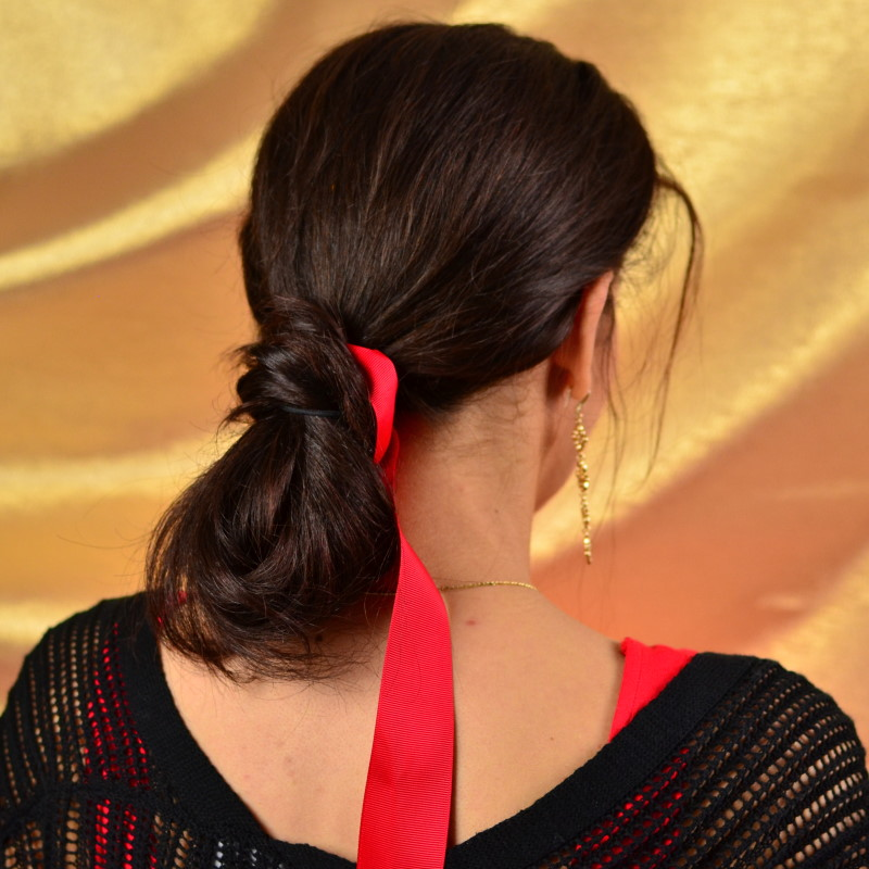 3 Cute Easy Holiday Hairstyles Last Minute Party Hairstyle