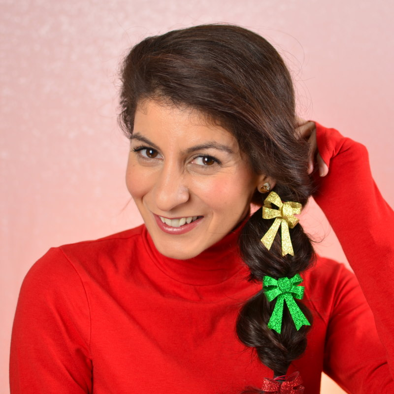 Morning Hairstyles : 3 quick hairstyles for Christmas day