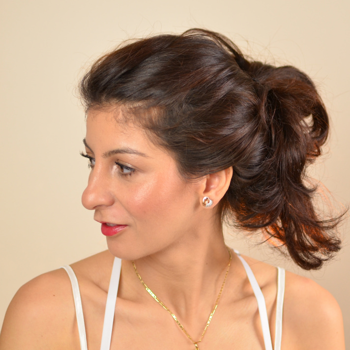 Bow hairstyle: Valentine's day hairstyles for short to ...