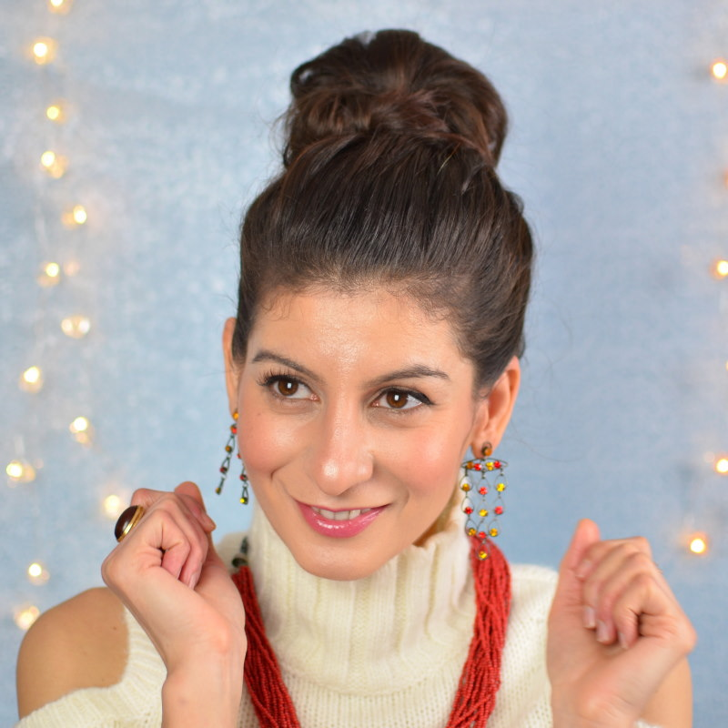 Easy Top knot bun hairstyles: My way of lazy bun hairstyles.