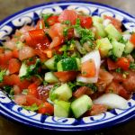 Diced Tomato, Cucumber & Onion Salad