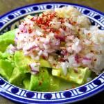 Avocado, Crab, Onion & Lemon Salad, Again Cacik