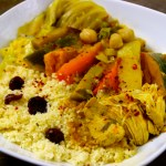 Couscous with Chicken & 7 Vegetables and Cacik again & again
