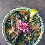 Molokhia with Mutton, Lebanese Style
