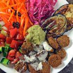 Falafel & Salads Plate