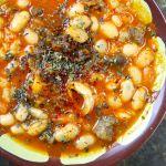 Instagram料理教室 Kuru Fasulye 白いんげん豆の羊肉とトマト煮込み