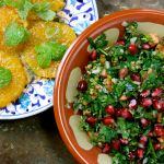 Tabbouleh & Moroccan Orange Salad, Veges from Tokushima Marche