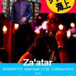 20190809Fri. Salam DJ@徳島Txalaparta