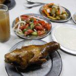 中東の鳩料理、ついでにラクダバーガー