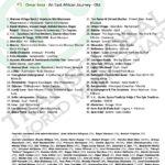 Transglobal World Music Chart. Mar. 2021