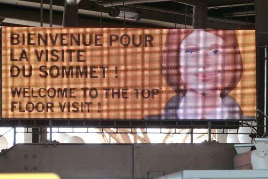 Consignes queue Tour Eiffel