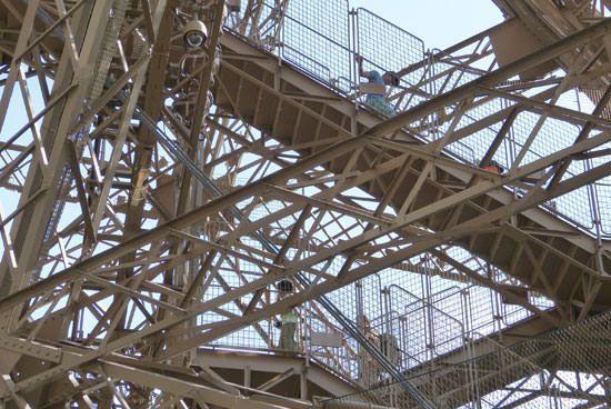 Escalier Tour Eiffel